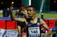 Ilias Fifa, en el Campeonato de España de Atletismo. Foto de archivo.