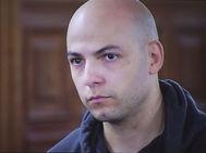 Sergio Morate, en una imagen tomada de la televisión de la Audiencia Provincial de Cuenca.