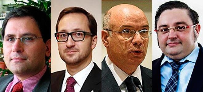 M. Manonelles, Luca Bellizi, Ramón Font y Adam Casals.