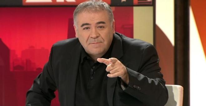 Antonio García Ferreras, en su programa 'Al rojo vivo'