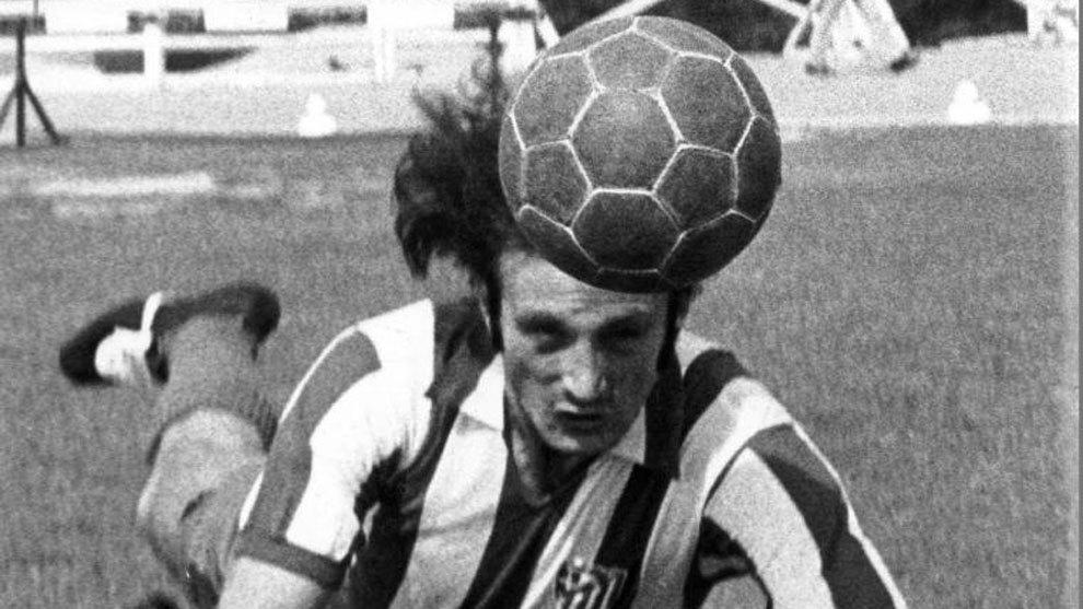 Muere Ramón Cabrero, eterno suplente de Luis Aragonés en el Atlético