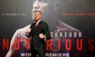 McGregor, el miércoles en el Savoy Cinema de Dublín.
