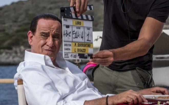 Toni Servillo, como Berlusconi en la película 'Loro'.