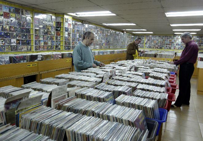Clásico. En La Metralleta hay discos para todos los gustos.