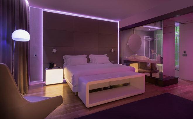 Virguer as tecnol gicas en las habitaciones de hotel del for Las habitaciones mas raras del mundo