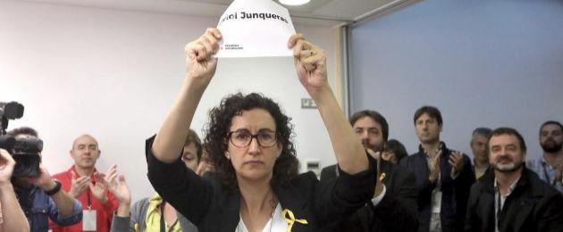 Marta Rovira en el Consell Nacional de ERC.