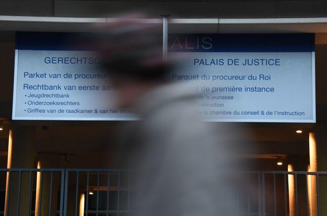 Sede de la Fiscalía federal de Bélgica en Bruselas.