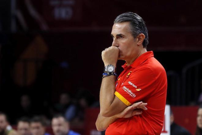 Sergio Scariolo, durante el pasado Eurobasket.