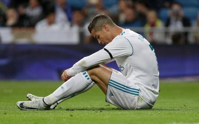 Cristiano Ronaldo se lamenta tras fallar una ocasión ante Las Palmas.