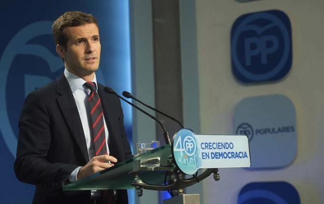 Carlos Casado, en rueda de prensa tras la reunión del Comité de...