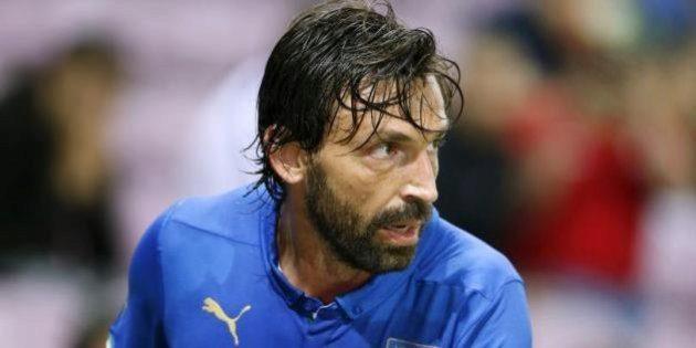 Andrea Pirlo con la camiseta de la selección italiana. REUTERS 9b1bd53532e98