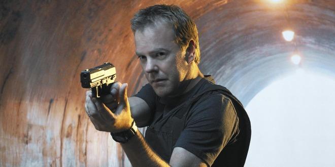 Kiefer Sutherland, como Jack Bauer en '24'.