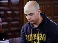 Sergio Morate, tras escuchar el veredicto el pasado octubre.