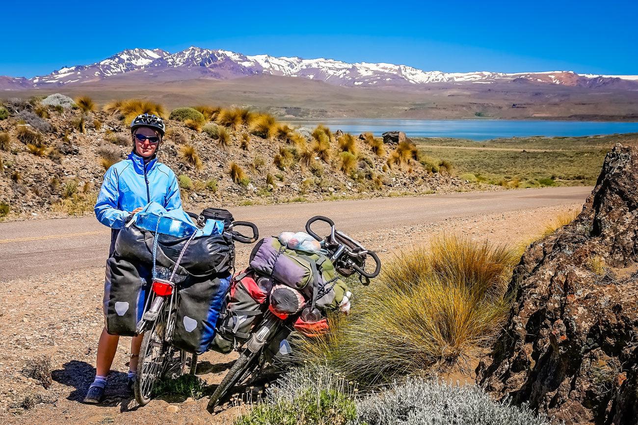 Son 1.150 kilómetros por el sur de Argentina. Desde...