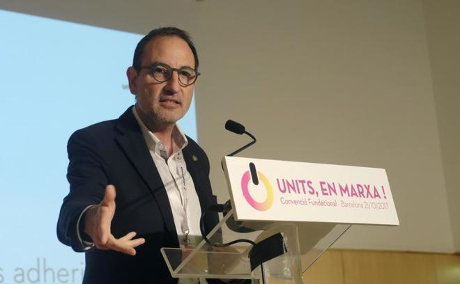 Ramon Espadaler, en el acto de fundación del partido Units per Avançar