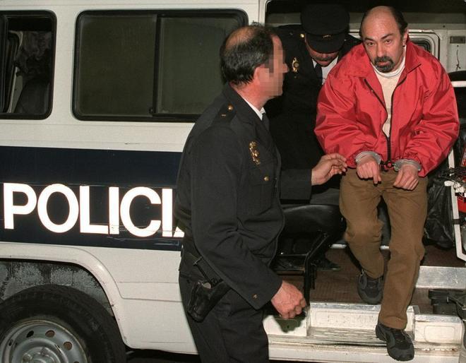 El etarra Rafael Caride Simón, en el año 2000