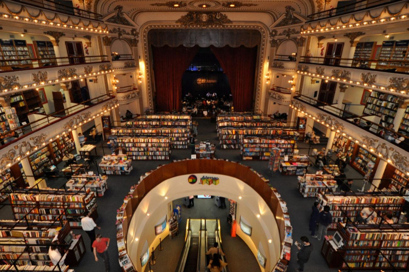 1. Librería El Ateneo (Buenos Aires, Argentina)