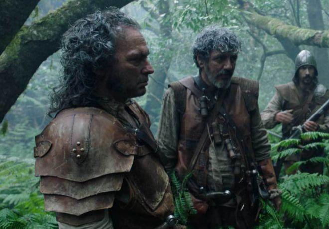 La espada. José Coronado interpreta al sargento Bastaurrés, el...