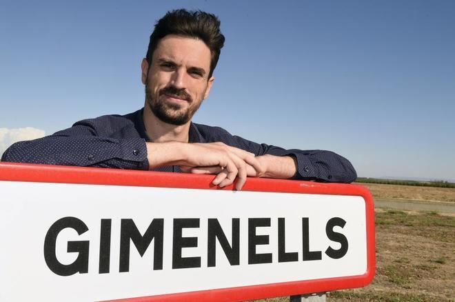 El alcalde de Gimenells i el Pla de la Font (Lleida), Dante Pérez....