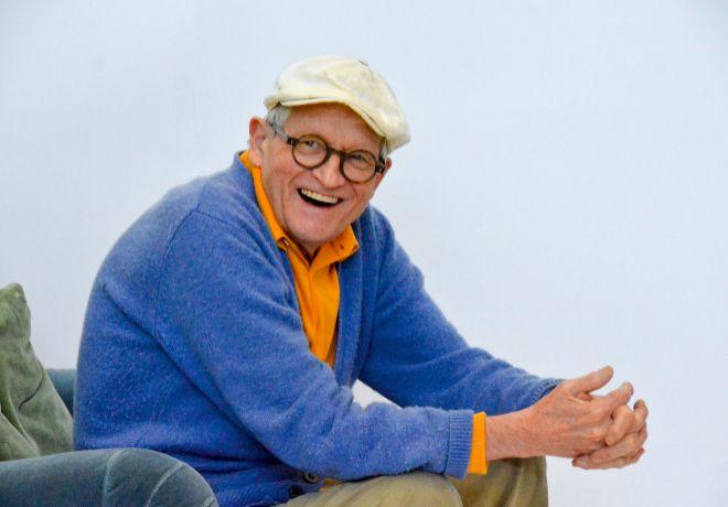 Los cuadros de David Hockney llegan al Museo Guggenheim este viernes.
