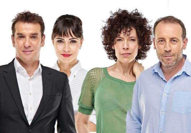 Protagonistas de 'El Test', una comedia que pone a prueba la paciencia...