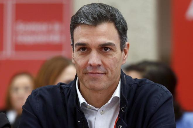 Pedro Sánchez, este sábado en Alcalá de Henares.