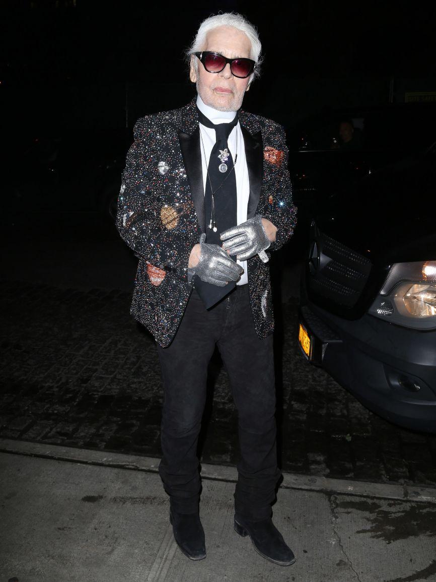 Lagerfeld desató una polémica al calificar en una cadena de...