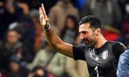 Buffon, tras la eliminación de Italia.