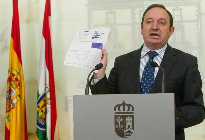 Pedro Sanz, en una imagen de archivo, cuando era presidente de La...