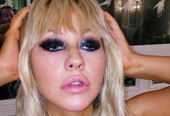 La imagen de la polémica de Christina Aguilera.