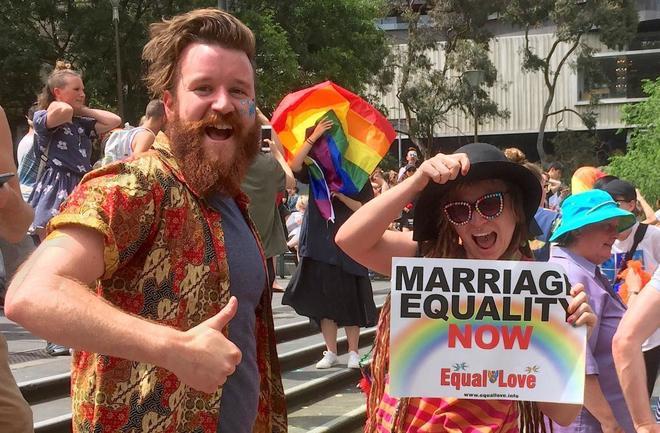 Resultado de imagen para australia matrimonio gay 2017