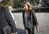 La tesorera del PP, Carmen Navarro, llega a los juzgados de Valencia...