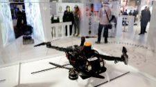 El dron del proyecto Arsi que sirve para inspeccionar el subsuelo.