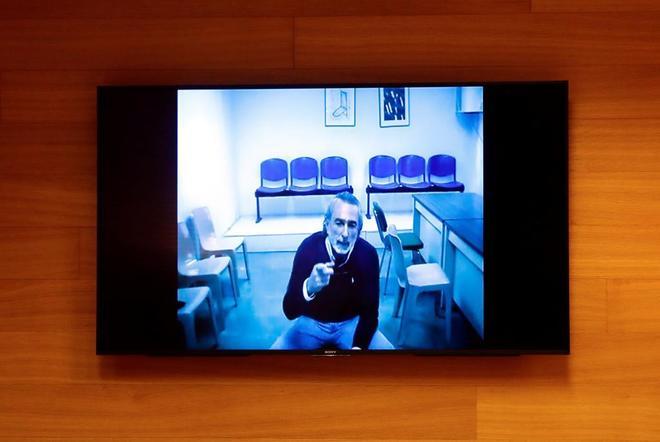Francisco Correa comparece por videoconferencia desde la cárcel ante...