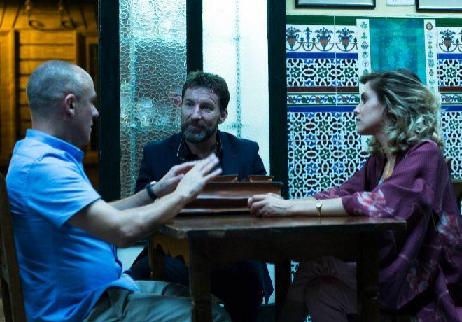 El aspirante, el profesor y la escritora. Javier Gutiérrez, Antonio...