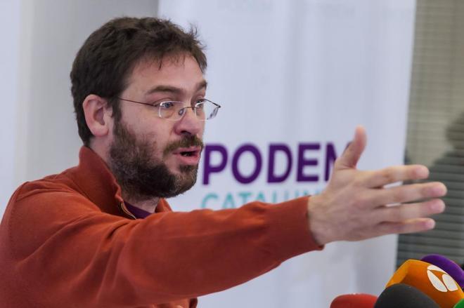 El ex secretario general de Podem, Albano-Dante Fachin