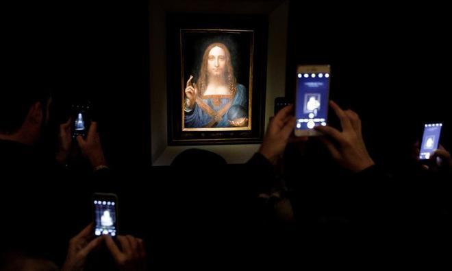 Da Vinci bate todos los récords del arte con Salvator Mundi: 380 millones de euros