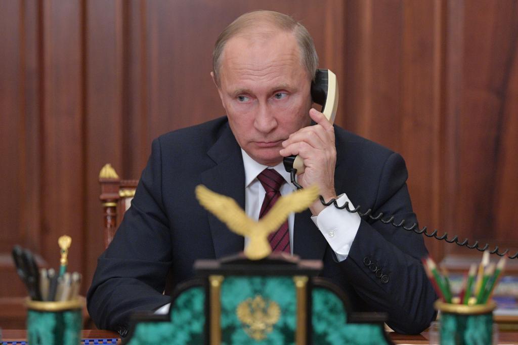 El presidente ruso, Vladimir Putin, el pasado miércoles en el Kremlin.