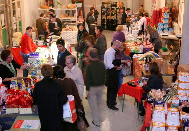 En este evento solidario confluyen artículos de moda y gastronomía...