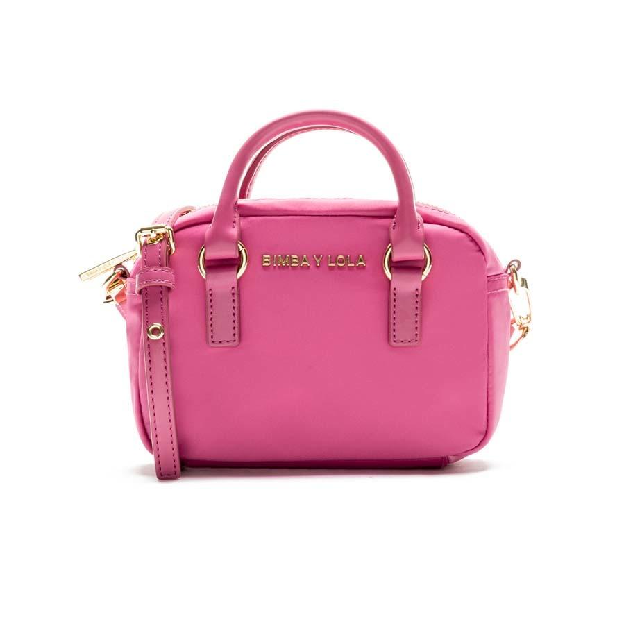 venta caliente barato lujo completamente elegante Bolso bandolera 'mini' en color rosa de Bimba y Lola ...