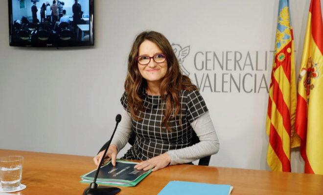 La vicepresidenta del Gobierno de la Generalitat, Mónica Oltra