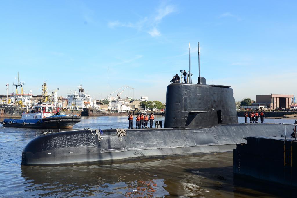 Resultado de imagen de submarino argentina
