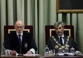 José Manuel Maza, fiscal general del Estado fallecido ayer, y Carlos...