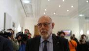 José Manuel Maza, fiscal general del Estado, al anunciar el 30 de...