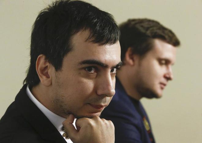 Vova (izquierda) y Lexus, los polémicos humoristas rusos.