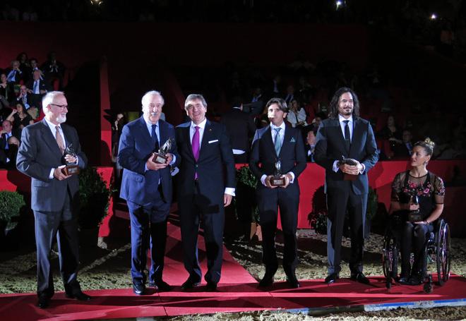 Entrega de los premios PRE este sábado en el SICAB de Sevilla.