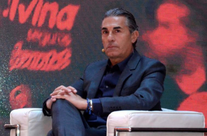 Sergio Scariolo, durante un acto publicitario el pasado jueves.