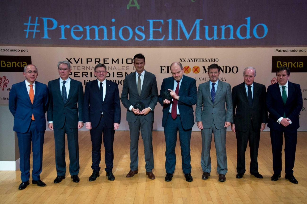 Francisco Rosell, director de El Mundo; Antonio Fernández-Galiano,...