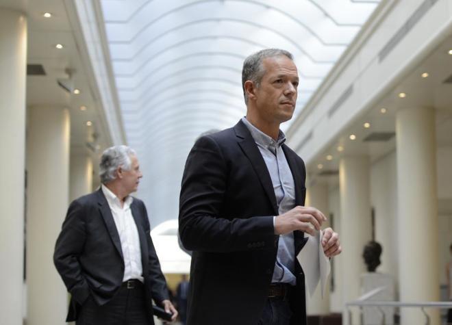 Ander Gil, portavoz del PSOE en el Senado.