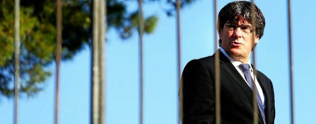 El presidente de la Generalitat cesado, Carles Puigdemont